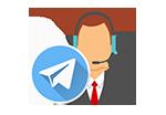 پشتیبان تلگرام